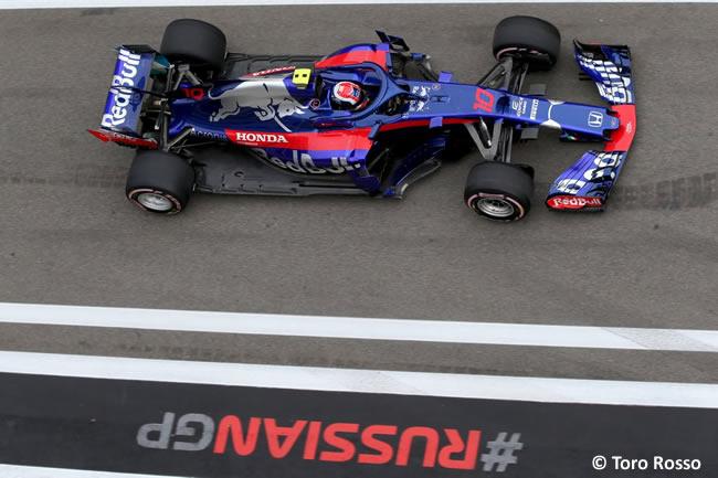 Pierre Galy - Toro Rosso - Entrenamientos Rusia 2018