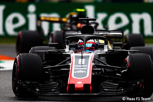 Romain Grosjean - Haas F1 - Carrera Gran Premio Italia 2018