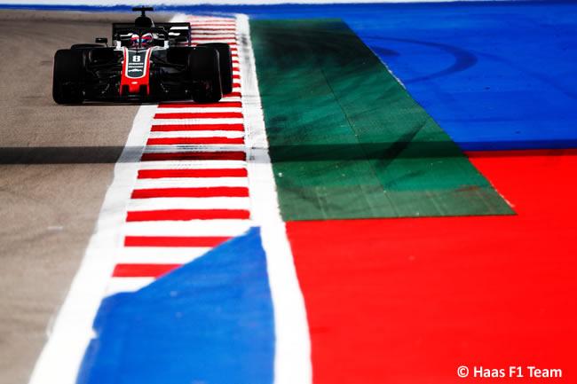 Romain Grosjean - Haas F1 - Entrenamientos Rusia 2018