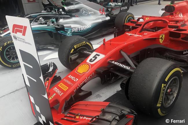 Sebastian Vettel - Scuderia Ferrari - Carrera GP Rusia 2018