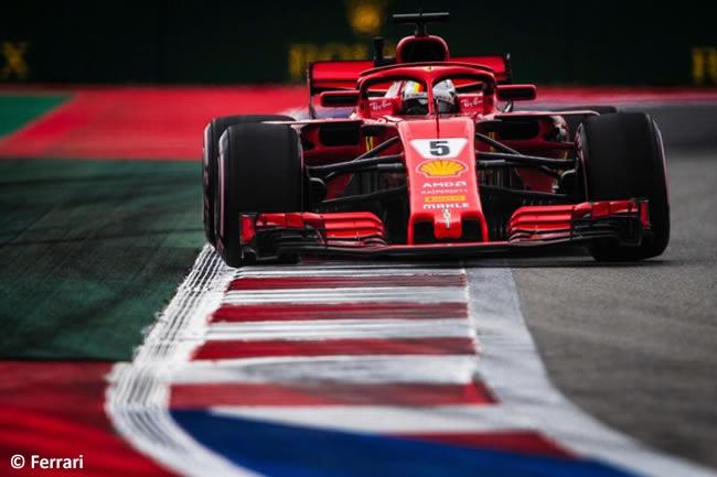 Sebastian Vettel - Scuderia Ferrari - Clasificación GP Rusia 2018