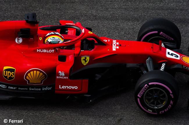 Sebastian Vettel - Scuderia Ferrari - Entrenamientos Rusia 2018