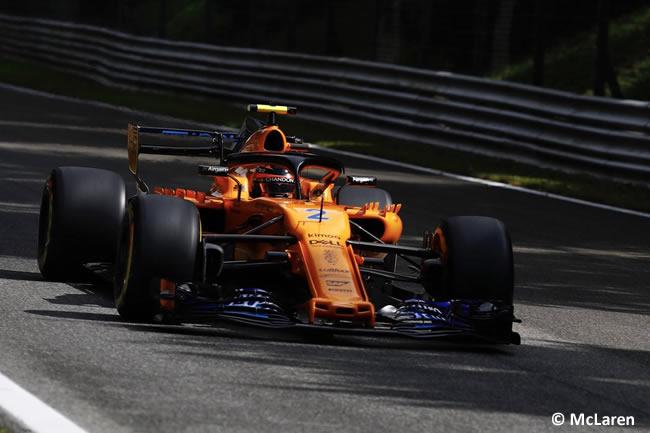 Stoffel Vandoorne - McLaren - Carrera Gran Premio Italia 2018
