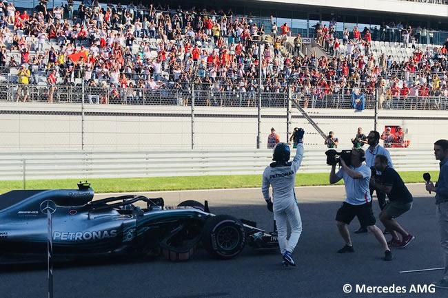 Valtteri Bottas - Mercedes - Clasificación GP Rusia 2018