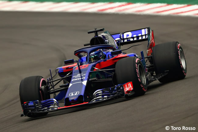 Brendon Hartley - Scuderia Toro Rosso - Clasificación - GP México AHR - 2018