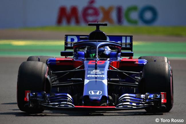 Brendon Hartley - Toro Rosso - Entrenamientos Libres - GP México AHR - 2018
