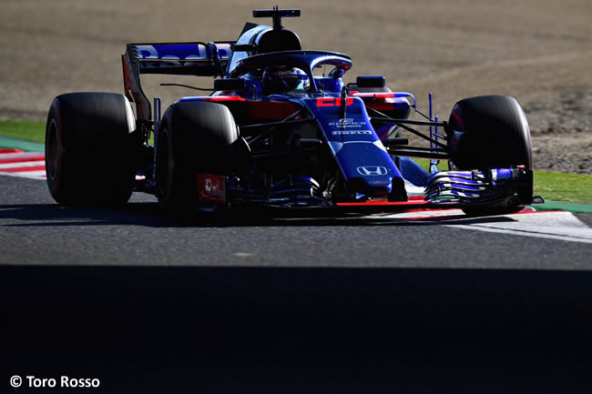 Brendon Hartley - Toro Rosso - GP Japón Carrera