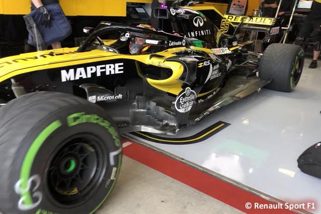 Carlos Sainz - Renault - Entrenamientos GP Estados Unidos 2018 -