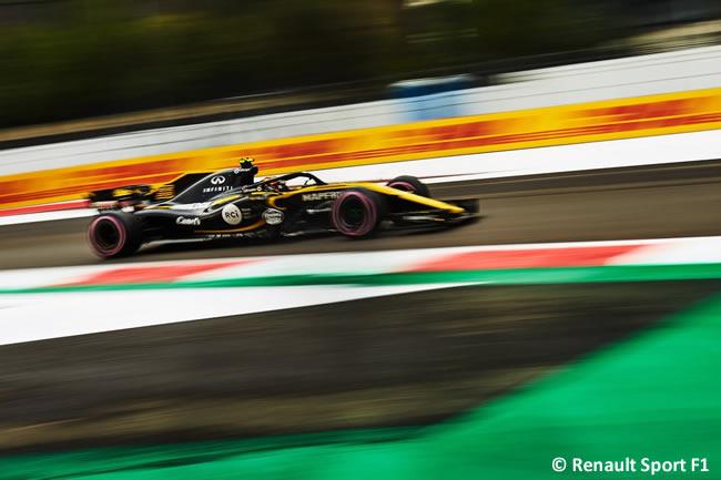 Carlos Sainz - Renault - Clasificación - GP México AHR - 2018
