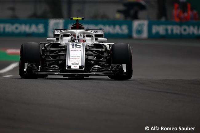Charles Leclerc - Alfa Romeo Sauber - Clasificación - GP México AHR - 2018
