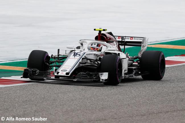 Charles Leclerc - Alfa Romeo Sauber - Clasificación - GP Estados Unidos - Austin - 2018 - COTA