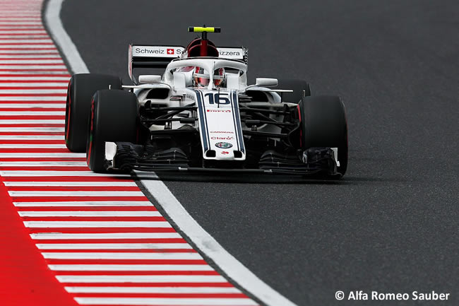 Charles Leclerc - Alfa Romeo Sauber - Clasificación - GP Japón 2018