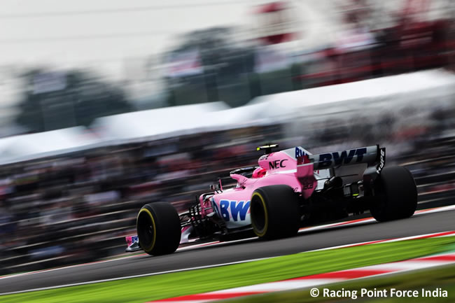 Esteban Ocon - Racing Point Force India - GP Japón 2018