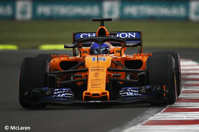 Fernando Alonso - McLaren - Clasificación - GP México AHR - 2018