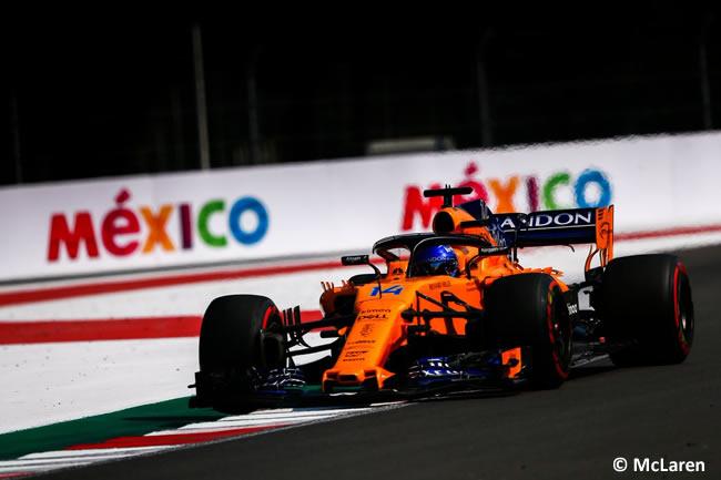 Fernando Alonso - McLaren - Entrenamientos Libres - GP México AHR - 2018