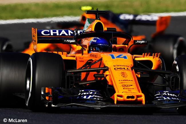 Fernando Alonso - McLaren - GP Japón Carrera