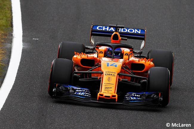 Fernando Alonso - McLaren - Clasificación - GP Japón 2018