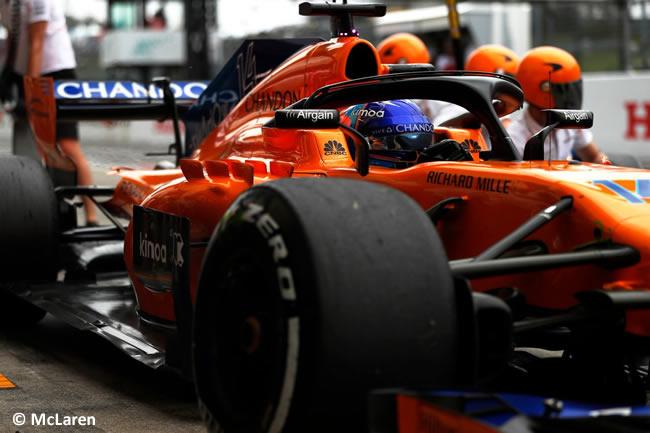 Fernando Alonso - McLaren - GP Japón 2018