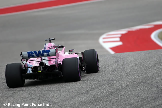 Racing Point Force India - Clasificación - GP Estados Unidos - Austin - 2018 - COTA
