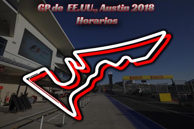 Horarios Gran Premio Estados Unidos 2018