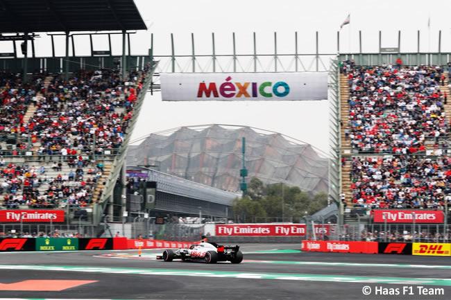 Haas - Clasificación - GP México AHR - 2018