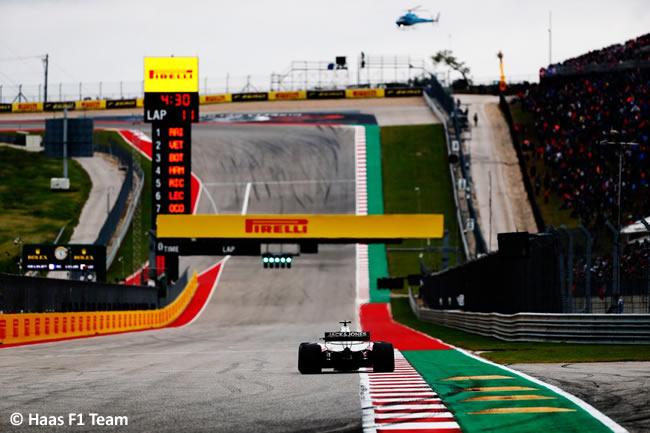 Haas F1 - Clasificación - GP Estados Unidos - Austin - 2018 - COTA