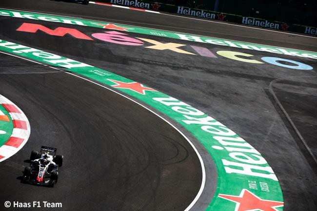 Kevin Magnussen - Haas F1 - Entrenamientos Libres - GP México AHR - 2018