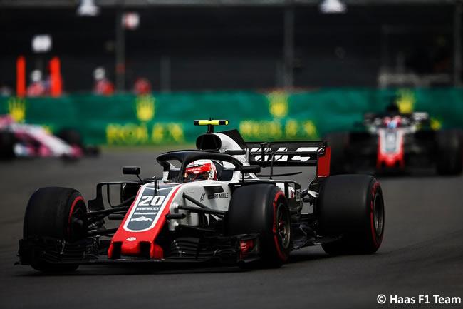 Kevin Magnussen - Haas F1 - Carrera - GP México AHR - 2018