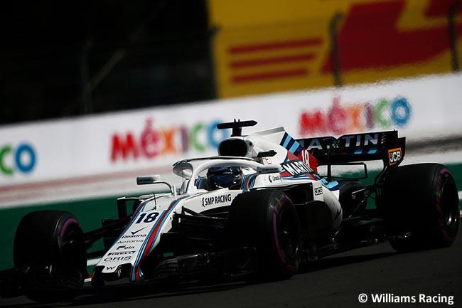 Lance Stroll - Williams - Entrenamientos Libres - GP México AHR - 2018