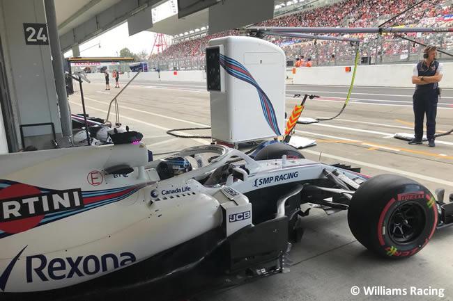 Lance Stroll - Williams - Clasificación - GP Japón 2018