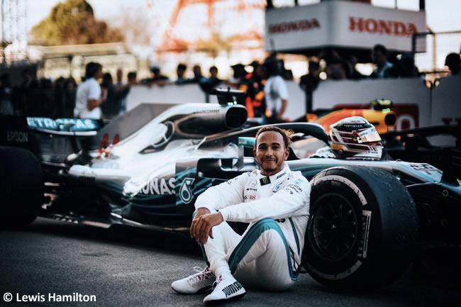 Lewis Hamilton - Mercedes - GP Japón - Carrera