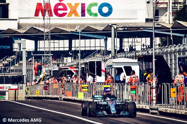 Lewis Hamilton - Mercedes - Entrenamientos Libres - GP México AHR - 2018