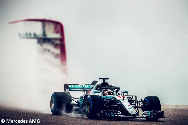 Lewis Hamilton - Mercedes AMG - Entrenamientos GP Estados Unidos 2018 -