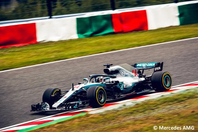 Lewis Hamilton - Mercedes - Entrenamientos - GP Japón 2018