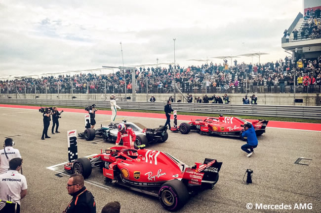 Lewis Hamilton - Mercedes AMG - Clasificación - GP Estados Unidos - Austin - 2018 - COTA