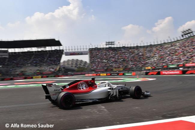 Marcus Ericsson - Sauber - Entrenamientos Libres - GP México AHR - 2018