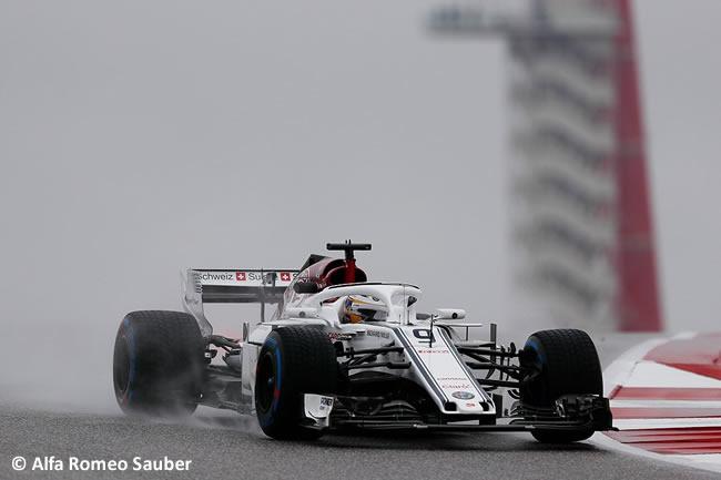 Marcus Ericsson - Sauber - Entrenamientos GP Estados Unidos 2018 -