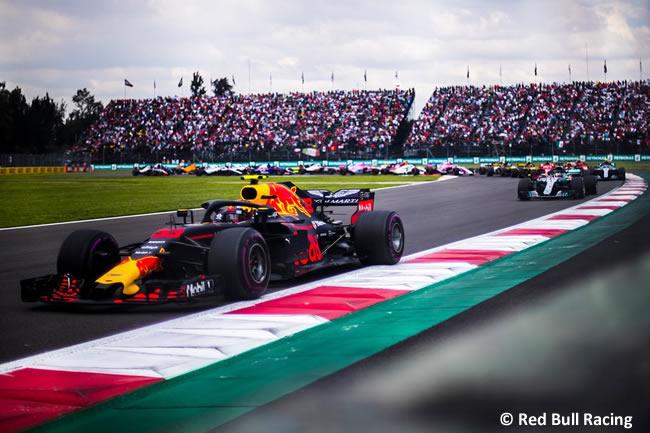 Max Verstappen - Red Bull - Carrera - GP México AHR - 2018