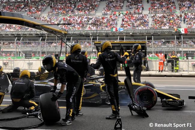 Nico Hulkenberg - Renault - Carrera - GP México AHR - 2018