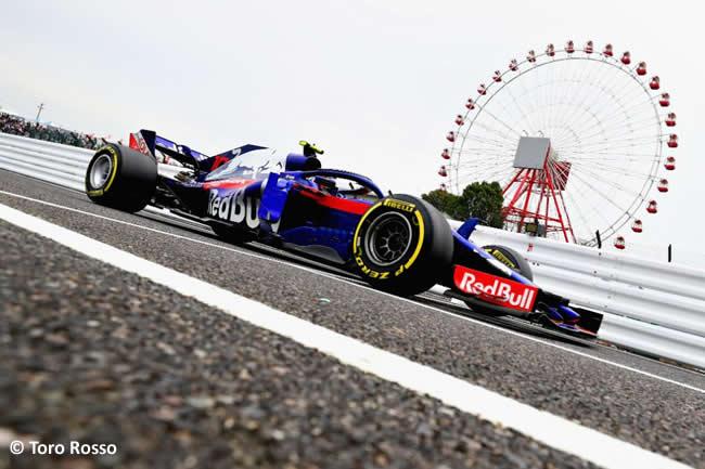 Pierre Gasly - Toro Rosso - Entrenamientos - GP Japón 2018