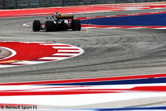 Renault - Clasificación - GP Estados Unidos - Austin - 2018 - COTA