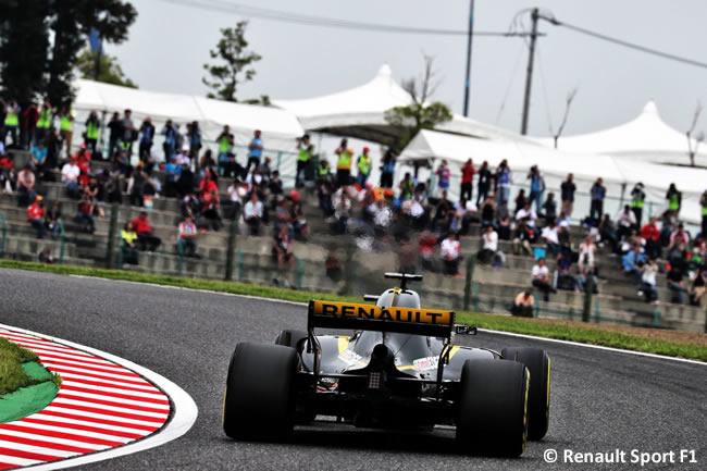 Renault - Entrenamientos - GP Japón 2018