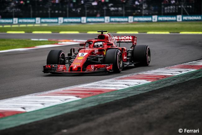Sebastian Vettel - Scuderia Ferrari - Clasificación - GP México AHR - 2018