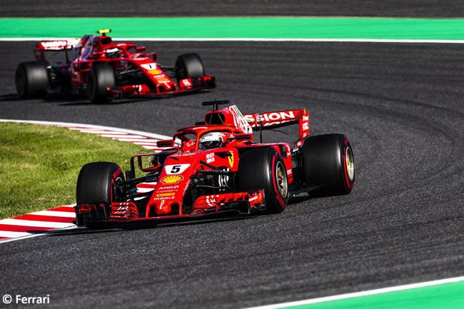 Sebastian Vettel - Scuderia Ferrari - GP Japón - Carrera
