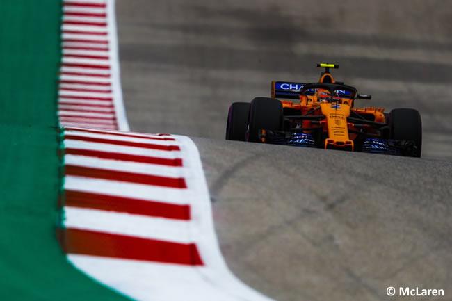 Stoffel Vandoorne - McLaren - Clasificación - GP Estados Unidos - Austin - 2018 - COTA
