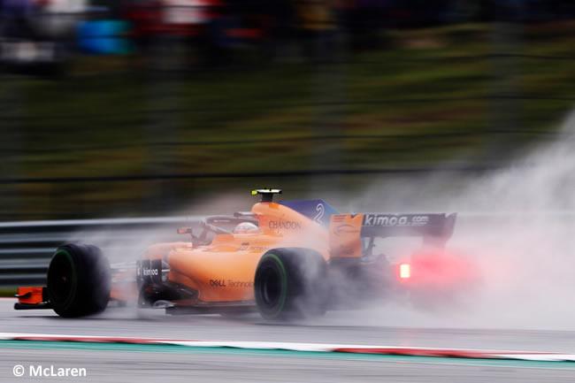 Stoffel Vandoorne - McLaren - Entrenamientos GP Estados Unidos 2018 -
