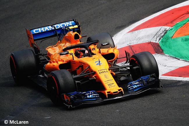 Stoffel Vandoorne - McLaren - Carrera - GP México AHR - 2018