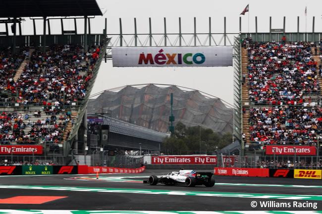 Williams - Clasificación - GP México AHR - 2018