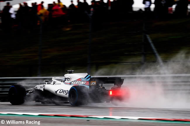 Williams Entrenamientos GP Estados Unidos 2018 -