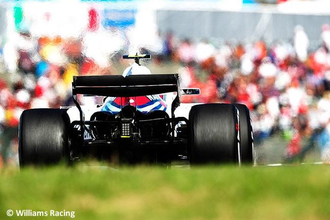 Williams - GP Japón - Carrera